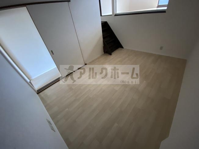 【寝室】旭ヶ丘1丁目3LDKテラスハウス