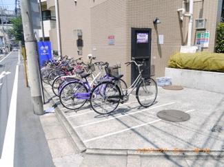 敷地内に、駐輪可能です。