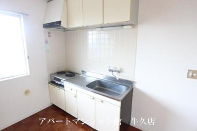 【キッチン】ルーミー牛久32号館