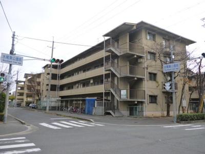 【外観パース】メゾンカーサー1号館