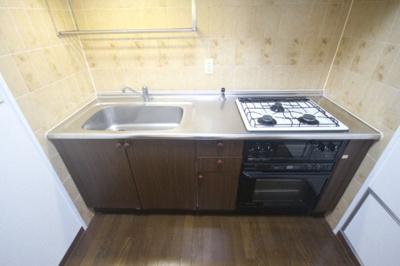 【キッチン】ライオンズマンション灘南