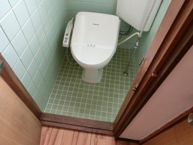 【トイレ】田辺2丁目5DK一戸建て