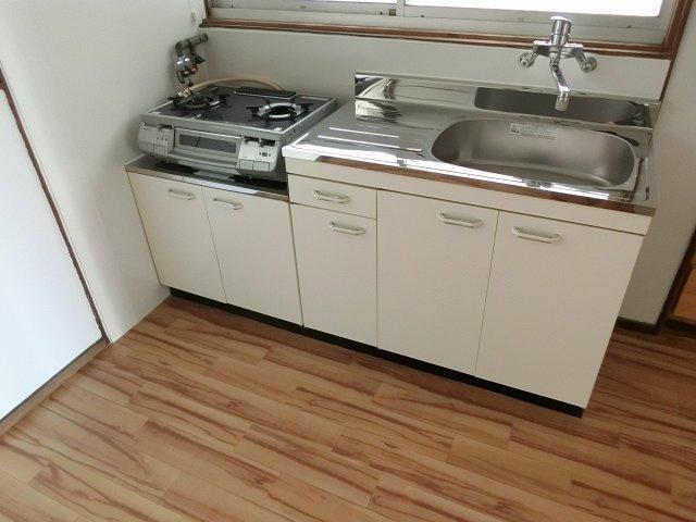 【キッチン】田辺2丁目5DK一戸建て