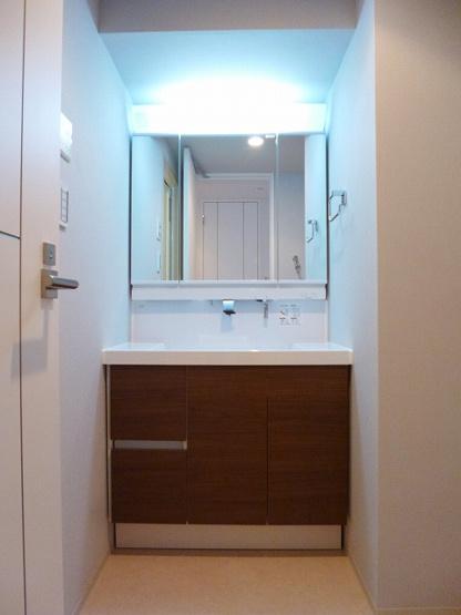ハンドシャワー付独立洗面台です