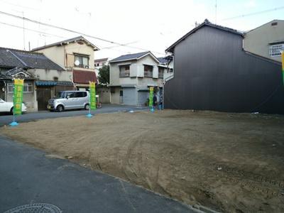 【前面道路含む現地写真】ハピネス!永和ヒルズ2号地