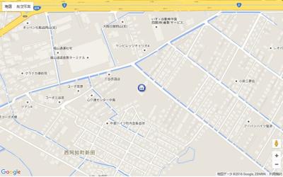 【地図】グランドウルス中島