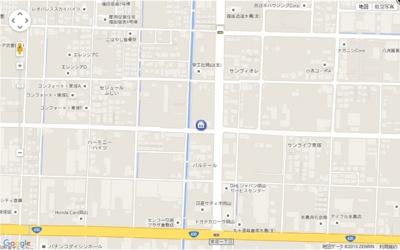 【地図】サンライズ亀甲