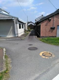 【前面道路含む現地写真】加西市田原町