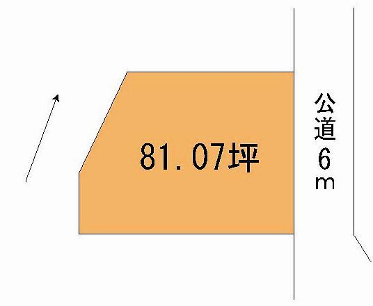 【土地図】柳が丘土地