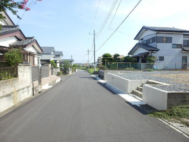 【前面道路含む現地写真】柳が丘土地