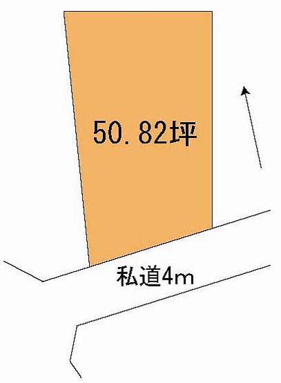 【土地図】小美玉市栗又四ケ土地