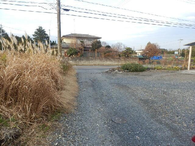 【前面道路含む現地写真】城里町石塚土地