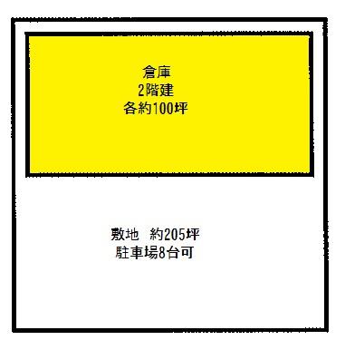 【外観】美原区黒山 倉庫