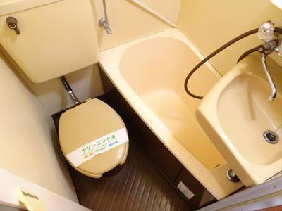 【浴室】アビタシオン田中