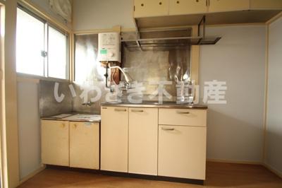 【キッチン】第二小柳コーポ