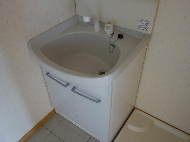 三洋ハイツ 独立洗面台