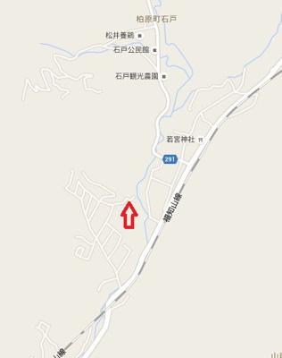 【地図】山南町玉巻売地