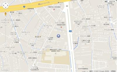 【地図】グレイスヴィラ