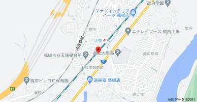 【地図】梶村マンション (株)Roos
