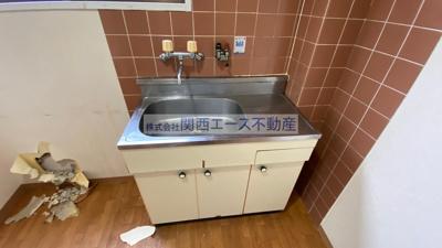 【キッチン】アレグリアプレイス瓢箪山