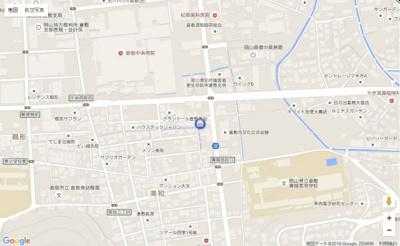 【地図】ハピネス美和