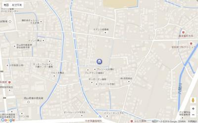 【地図】エステート山下