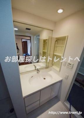【洗面所】レジディア新御茶ノ水