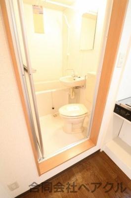 【浴室】クローバー椥辻
