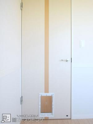 ペット用くぐりドア