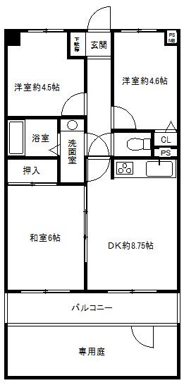 ルベーレ熊谷(1階部分)