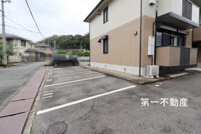 【駐車場】クレール 2