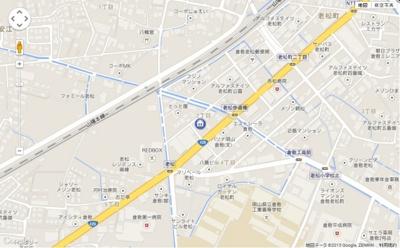 【地図】エスポワール小野