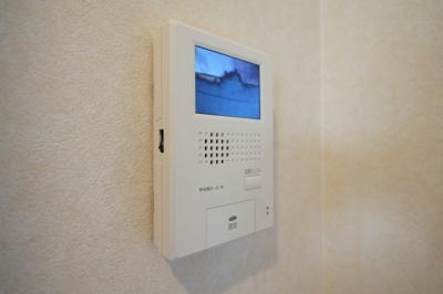 お留守番も安心なTVモニターホンがあります