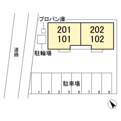 【区画図】ソラーレ
