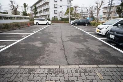 【駐車場】朝日レジデンス小柴5号棟