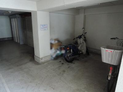 バイク・自転車置き場