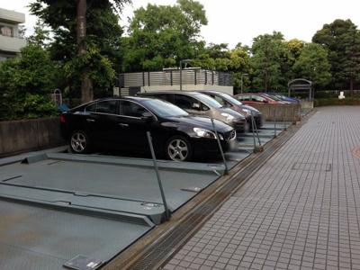 【駐車場】東急ドエルアステリア青葉台