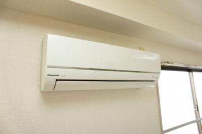 冷暖エアコン完備
