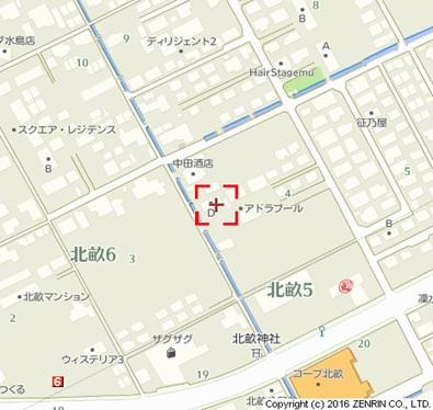 【地図】アドラブールD棟