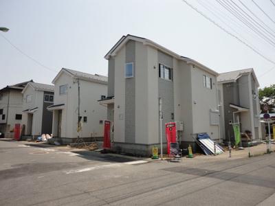 【前面道路含む現地写真】川口市本蓮2丁目 新築分譲住宅全6棟