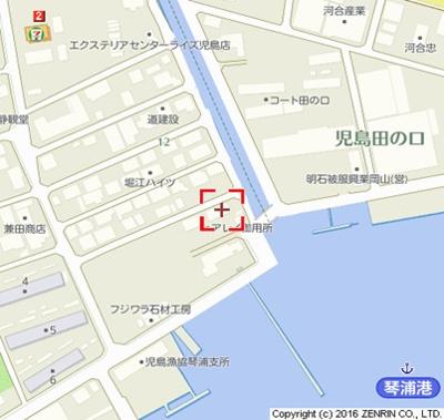 【地図】アレイ御用所B