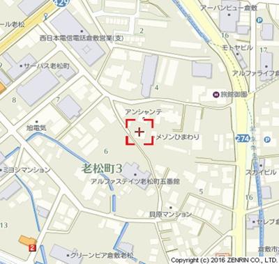 【地図】アンシャンテⅡ