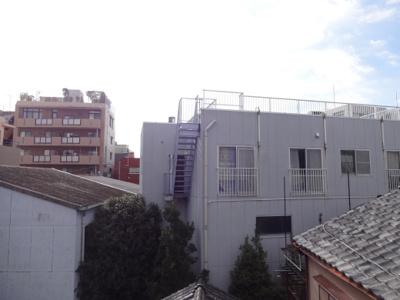 木村ビル ベランダからの眺望 日当たり良好です!