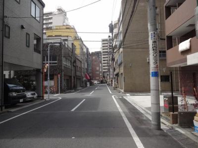 ディアレイシャス上野浅草 建物前
