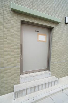 衛生的な専用ゴミ置場☆