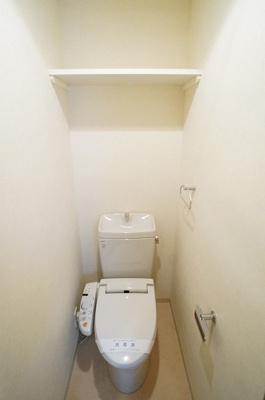 清潔快適な温水洗浄便座です☆
