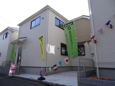 【外観】さいたま市緑区馬場2丁目 設計住宅性能評価書付 新築分譲住宅全4棟・残1棟