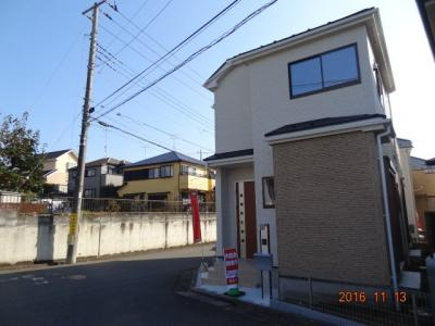 【前面道路含む現地写真】さいたま市緑区馬場2丁目 設計住宅性能評価書付 新築分譲住宅全4棟・残1棟