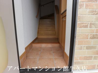 【玄関】レジデンスさくら台C