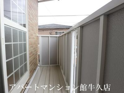 【バルコニー】レジデンスさくら台C